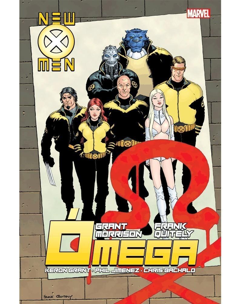 New X-Men Vol.3: Ómega, de Grant Morrison (Ed.Portuguesa, capa dura), capa