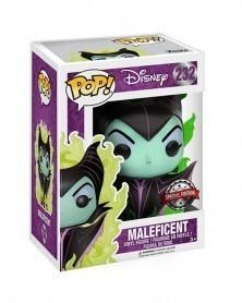 Funko POP Disney - Maleficent (Green Flame) 232, caixa