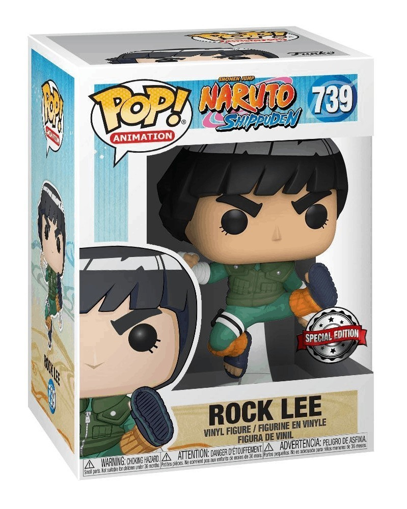 Funko POP Anime - Naruto Shippuden - Rock Lee, caixa