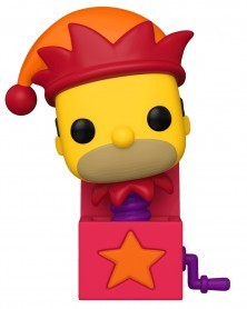 Funko POP TV - The Simpsons Treehouse of Horror - Jack-in-a-Box Homer