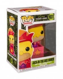 Funko POP TV - The Simpsons Treehouse of Horror - Jack-in-a-Box Homer, caixa