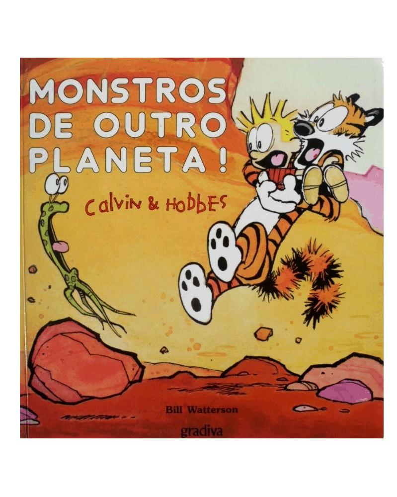 Calvin & Hobbes - Monstros de Outro Planeta (Bill Waterson)