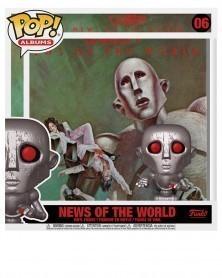 PREORDER! Funko POP Albums - Queen - News of The World, caixa