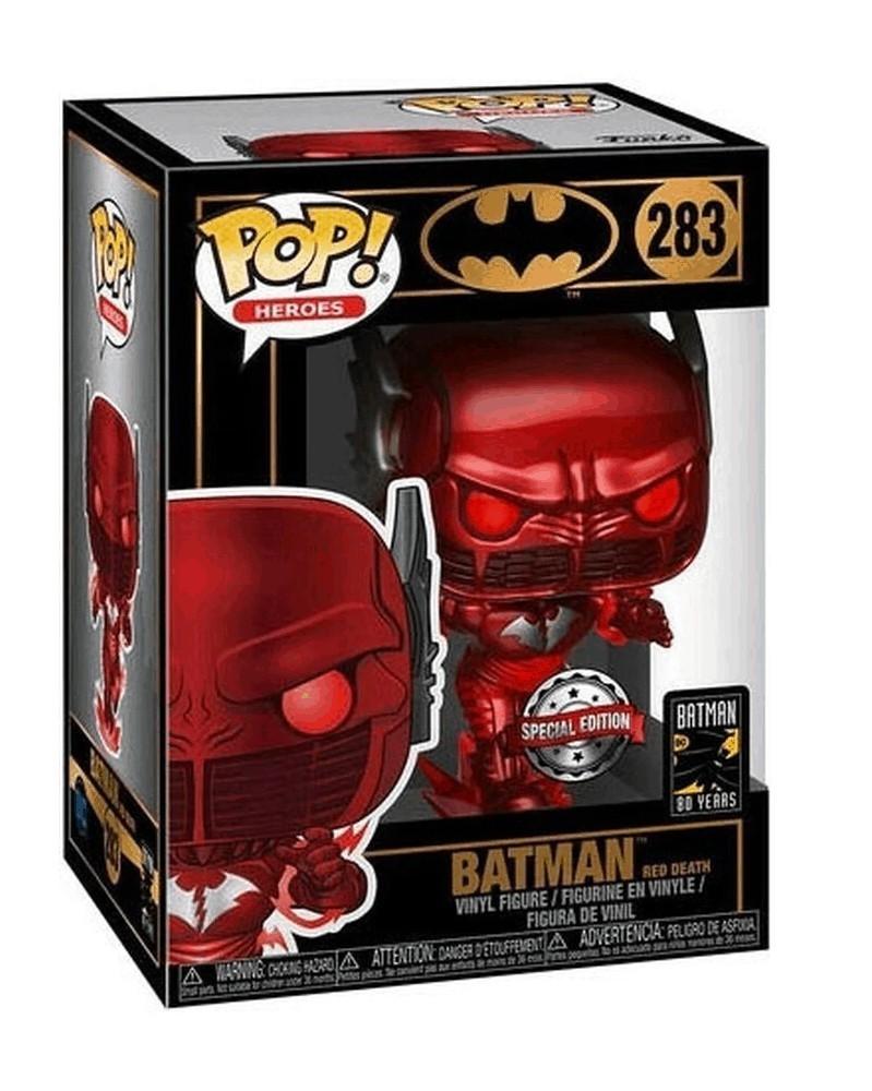 Funko POP Heroes - Batman (Red Death), caixa