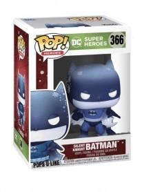 Funko POP DC Super Heroes - Silent Knight Batman, caixa