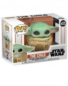 Funko POP Star Wars - Mandalorian - The Child (Baby Yoda) in Bag, caixa