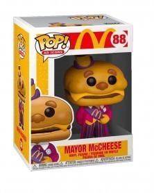 Funko POP Ad Icons - McDonald's - Mayor McCheese, caixa