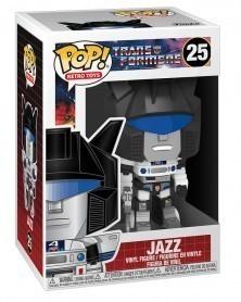 Funko POP Retro Toys - Transformers - Jazz, caixa