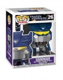 Funko POP Retro Toys - Transformers - Soundwave, caixa