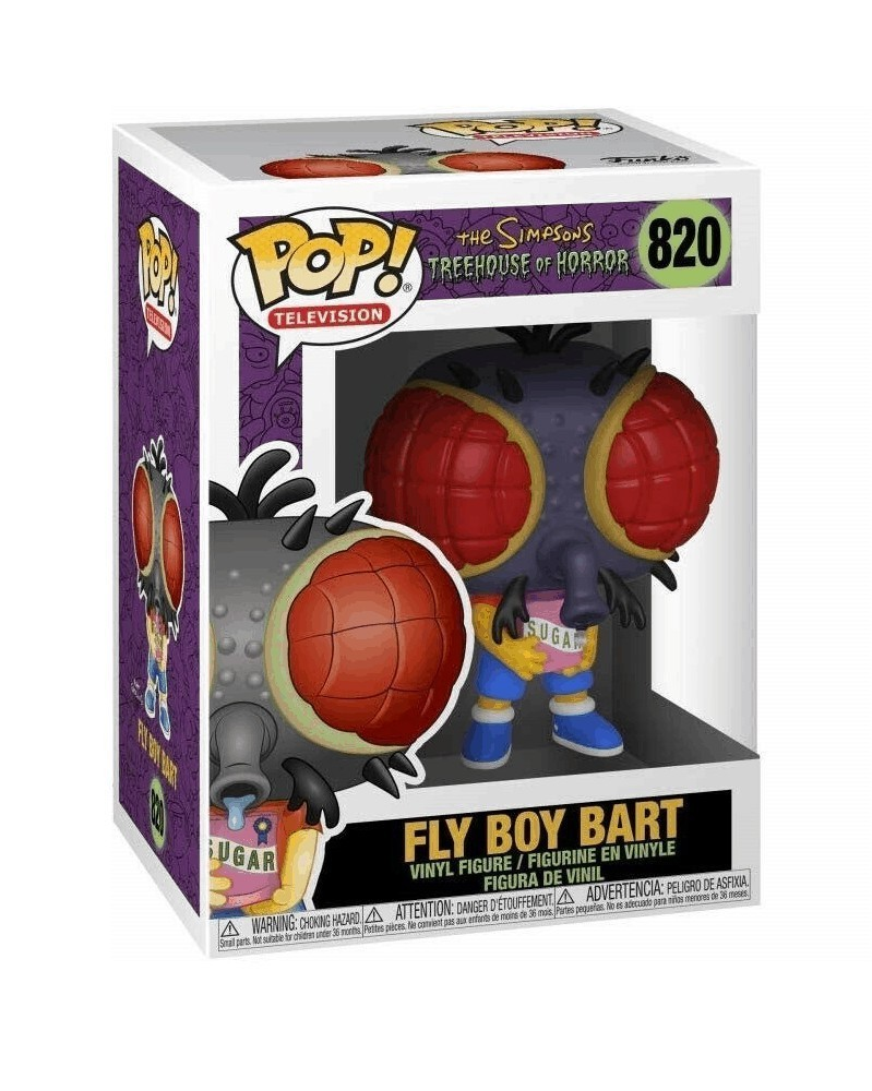Funko POP TV - The Simpsons Treehouse of Horror - Fly Boy Bart, caixa