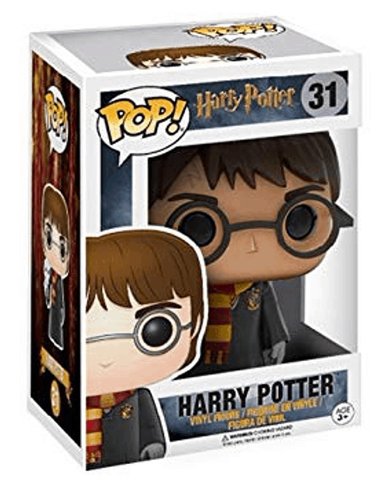 Funko POP Harry Potter - Harry Potter with Hedwig (31), caixa