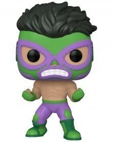 Funko POP Marvel - Lucha Libre - Hulk El Furioso