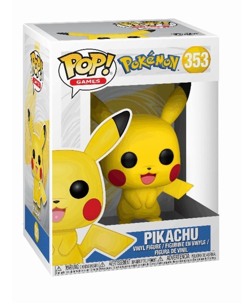 Funko POP Games - Pokémon - Pikachu (353), caixa