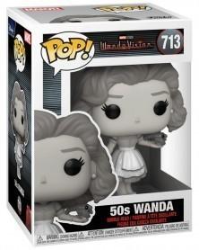 Funko POP Marvel Studios - WandaVision - 50s Wanda, caixa