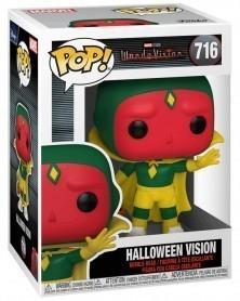 Funko POP Marvel Studios - WandaVision - Halloween Vision, caixa