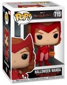 Funko POP Marvel Studios - WandaVision - Halloween Wanda, caixa