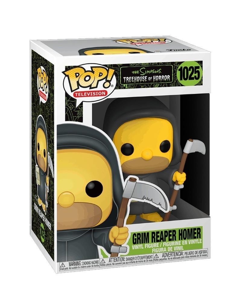 Funko POP TV - The Simpsons Treehouse of Horror - Grim Reaper Homer, caixa