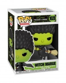 Funko POP TV - The Simpsons Treehouse of Horror - Witch Marge, caixa