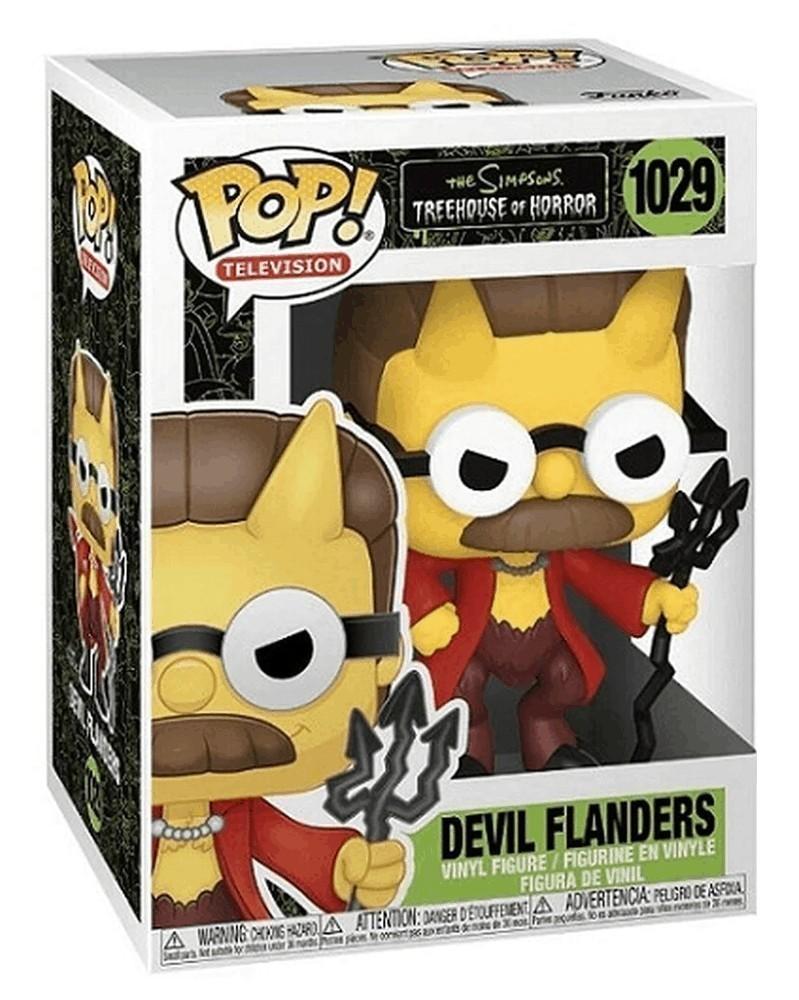 Funko POP TV - The Simpsons Treehouse of Horror - Devil Flanders, caixa