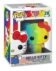 Funko POP Pride - Hello Kitty (Rainbow), caixa