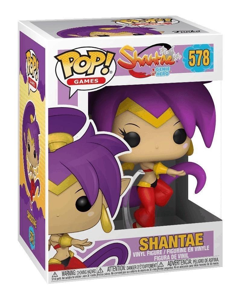 Funko POP Games - Shantae 1/2 Genie Hero - Shantae, caixa