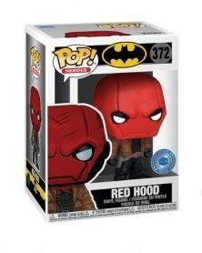 Funko POP Heroes - Red Hood (PIAB Exclusive), caixa