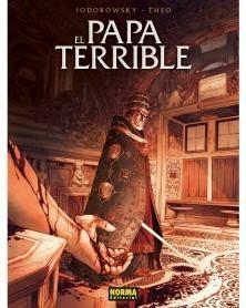 El Papa Terrible, de Jodorowsky & Theo (Ed.Integral em Castelhano), capa