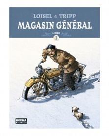 Magasin General, de Loisel & Tripp, Integral vol.1 (Ed. em Castelhano) capa