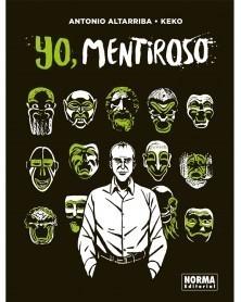 Yo Mentiroso, de Altarriba & Keko (Ed. em Castelhano), capa