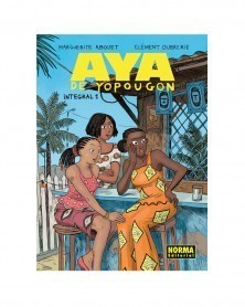 Aya de Yopougon Integral Vol.1 (Ed. em Castelhano), capa