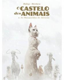 O Castelo dos Animais vol.2: As Margaridas do Inverno (Dorison & Delep) capa