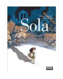 Sola, de Lapière & Efa  (Ed. em Castelhano) capa
