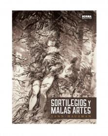 Sortilegios y Malas Artes, de Yann & Hausman  (Ed. em Castelhano)  capa
