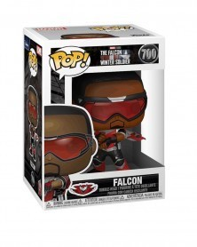 Funko POP Marvel - The Falcon & The Winter Soldier - Falcon, caixa