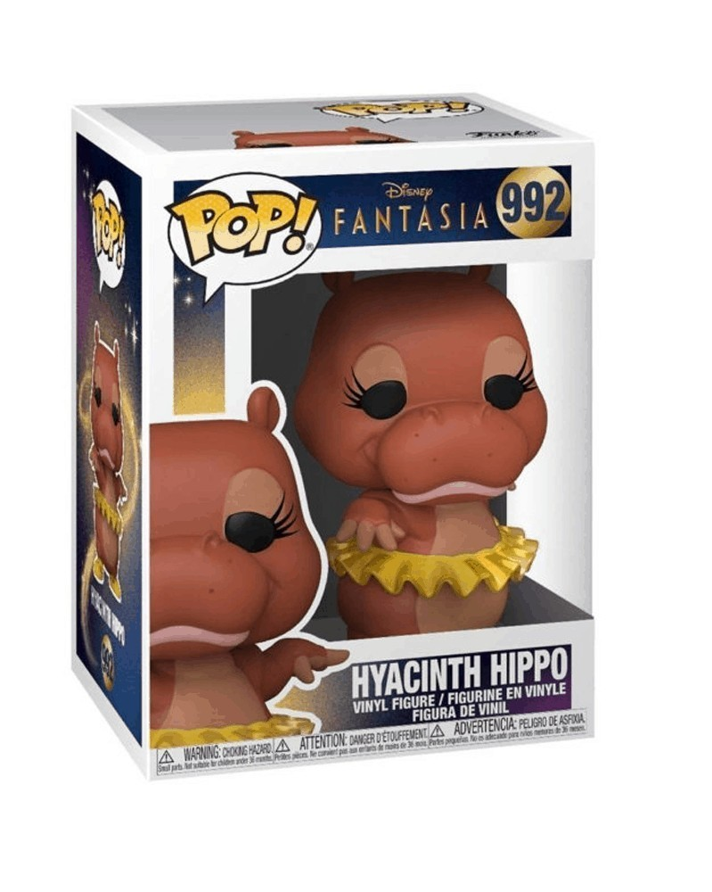 Funko POP Disney - Fantasia - Hyacinth Hippo caixa