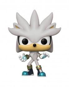 Funko POP Games - Sonic The Hedgehog - Silver