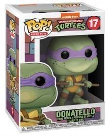 Funko POP Retro Toys - Teenage Mutant Ninja Turtles - Donatello, caixa