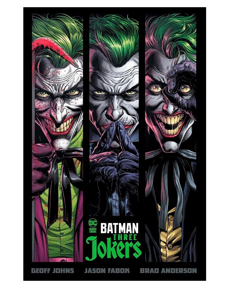 Batman: Three Jokers HC (capa dura)