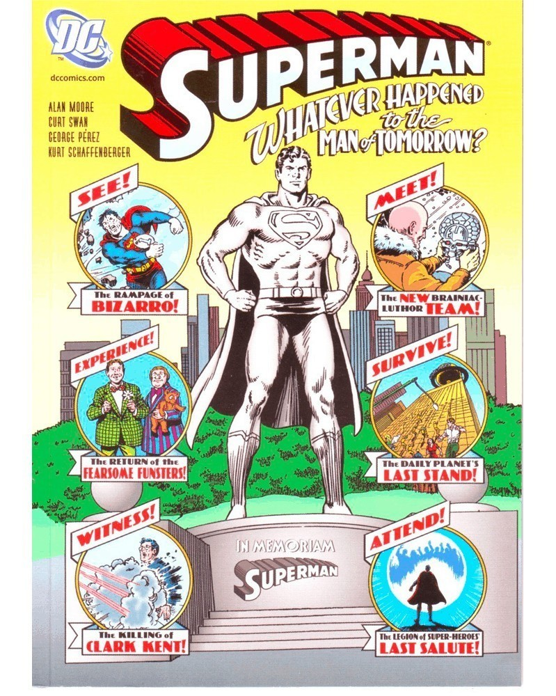 Superman: Whatever Happened To The Man of Tomorrow HC (Moore)