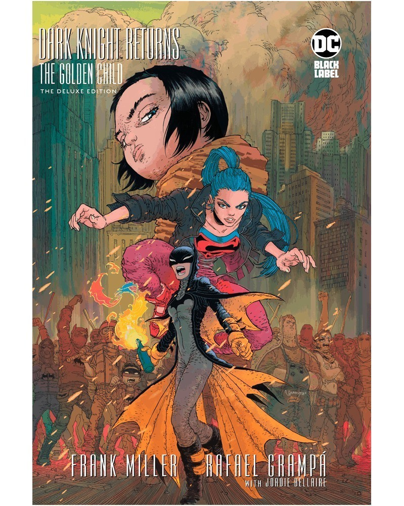 Batman, The Dark Knight Returns: The Golden Child Deluxe HC