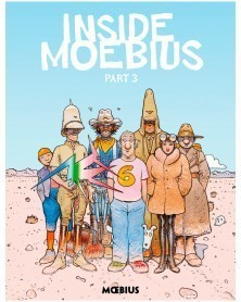 Moebius Library: Inside Moebius Part 3 HC