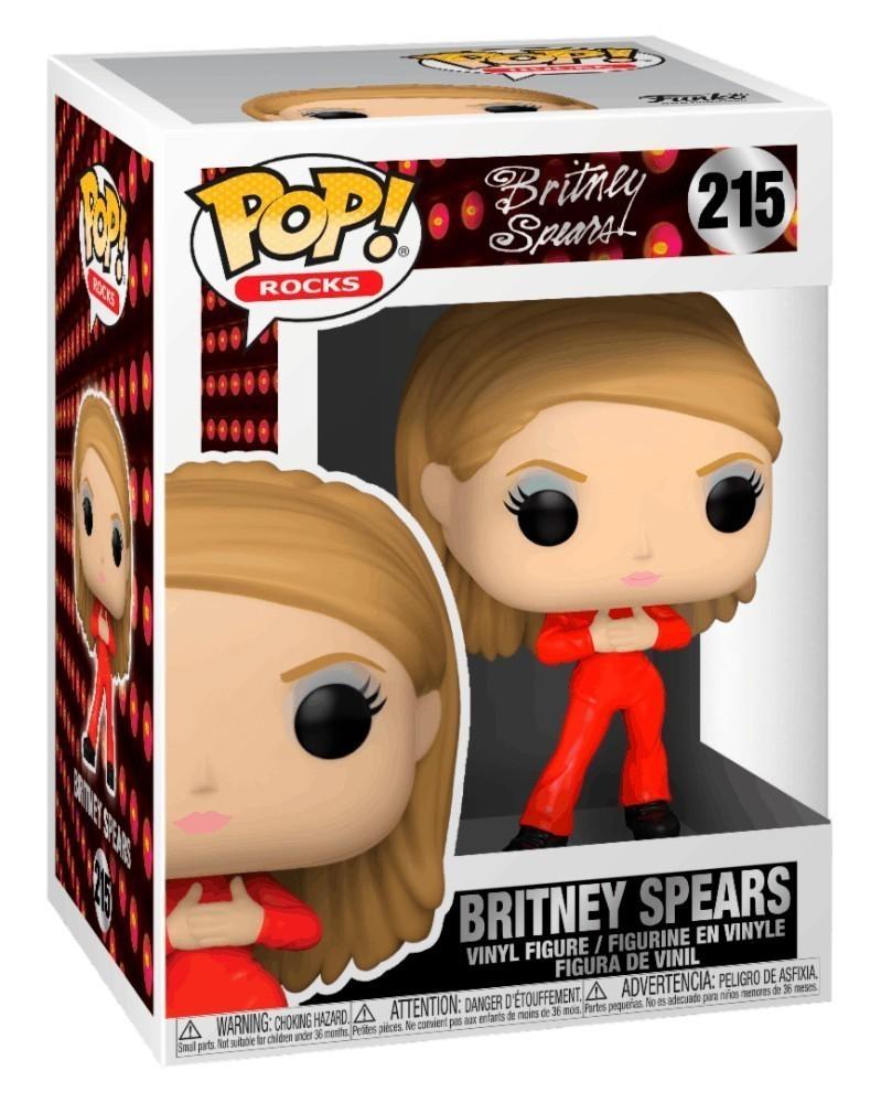 PREORDER! Funko POP Rocks - Britney Spears (Catsuit) caixa