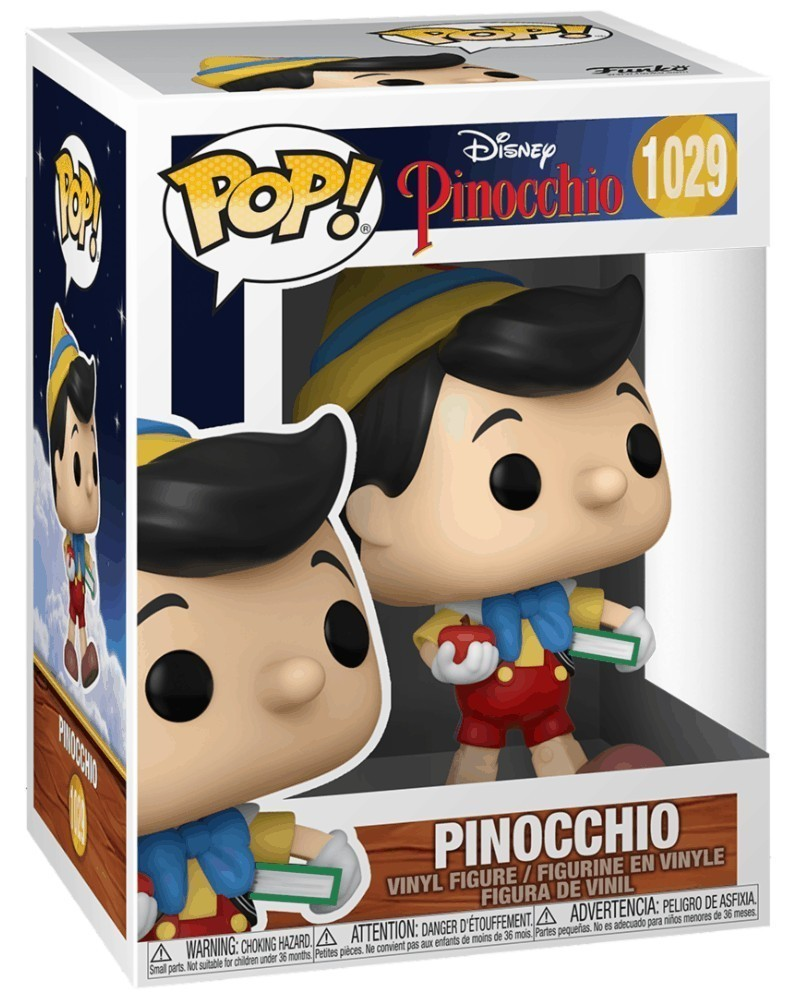 PREORDER! Funko POP Disney - Pinocchio - Pinocchio (1029) caixa