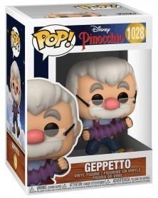 PREORDER! Funko POP Disney - Pinocchio - Geppetto caixa