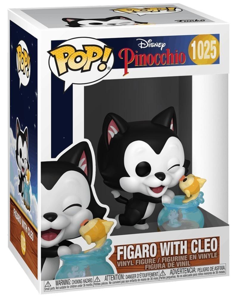 PREORDER! Funko POP Disney - Pinocchio - Figaro  with Cleo caixa