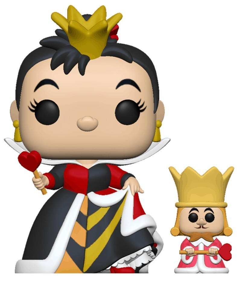 PREORDER! Funko POP Disney - Alice in Wonderland 70th - Queen of Hearts (w/King)