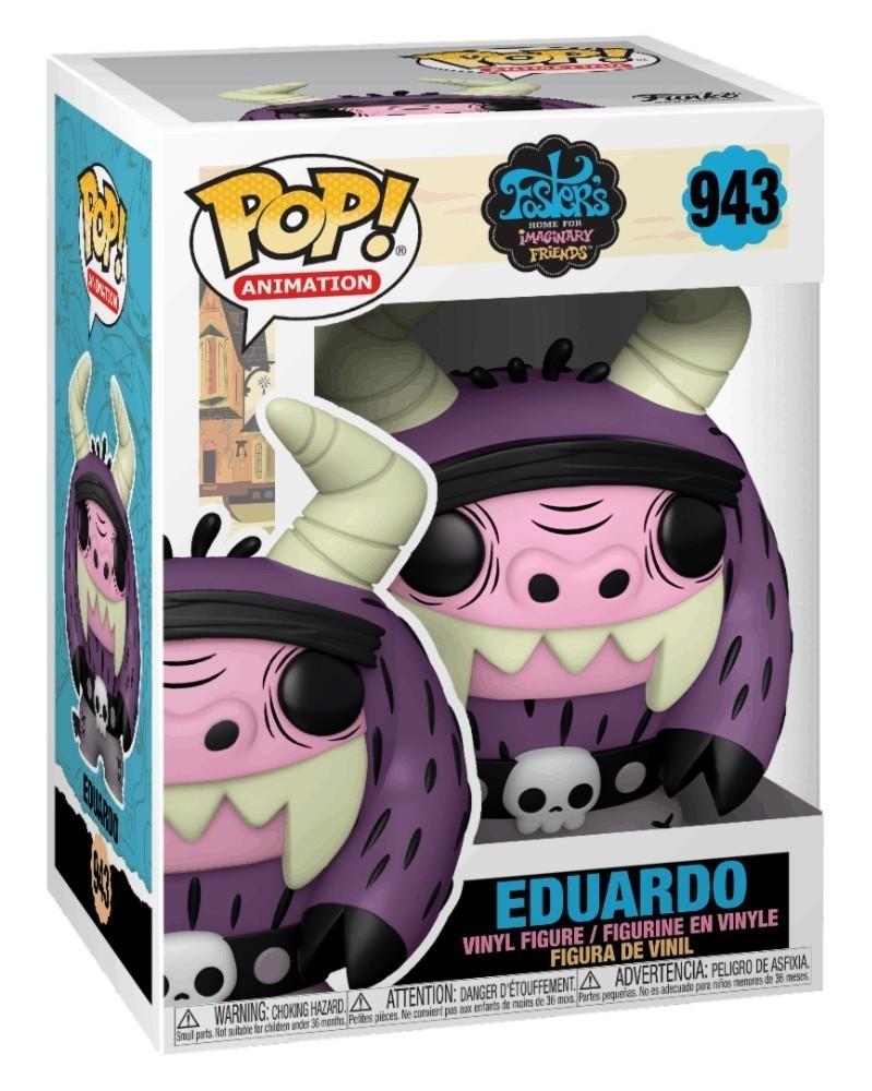 PREORDER! Funko POP Animation - Foster's Home for Imaginary Friends - Eduardo caixa
