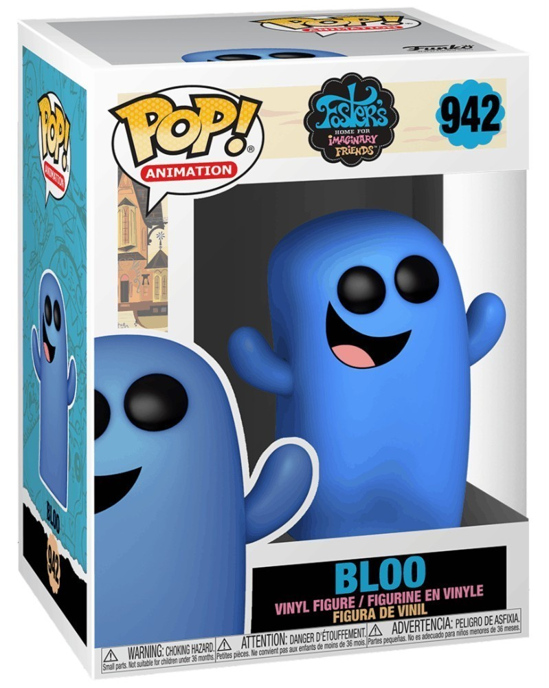 PREORDER! Funko POP Animation - Foster's Home for Imaginary Friends - Bloo caixa