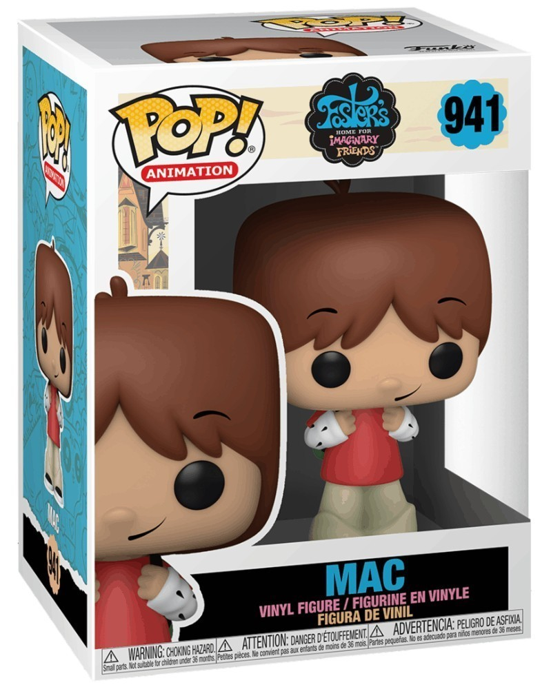 PREORDER! Funko POP Animation - Foster's Home for Imaginary Friends - Mac caixa