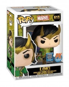 Funko POP Marvel - Loki (Free Comic Book Day 2020 Previews Exclusive) caixa